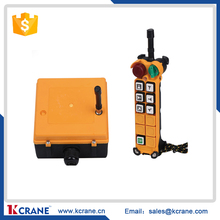 radio remote control single /double speed one transmitter one receiver for crane