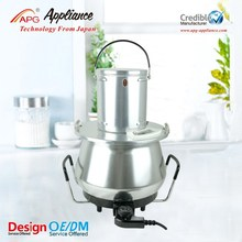 Electric mixing and Cooking Pot with mixer, large cooking pots for sale