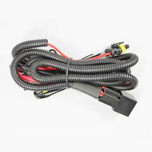 HID relay harness H1 H3 H7 H8 H9 <strong>H10</strong> H11 9005 9006 hb4 HID Xenon relay cable for xenon hid kit headlight harness wire