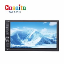 DASAITA 7 inch 4+32GB Ocat Core Android 6.0 2 din stereo no cd car dvd player universal radio with navigation