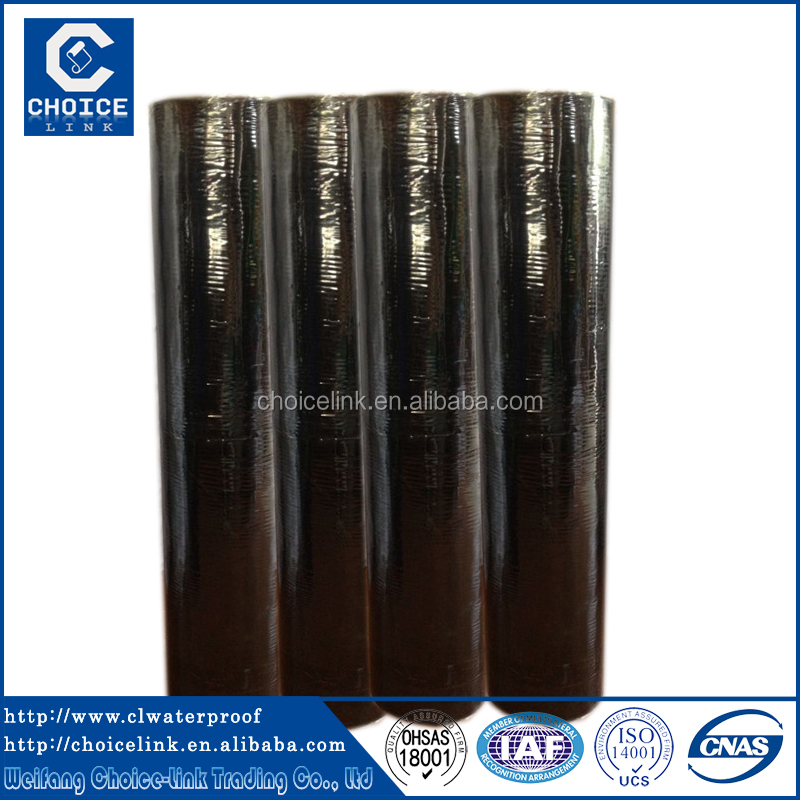 self adhesive asphalt water proofing roll/membrane for roofing