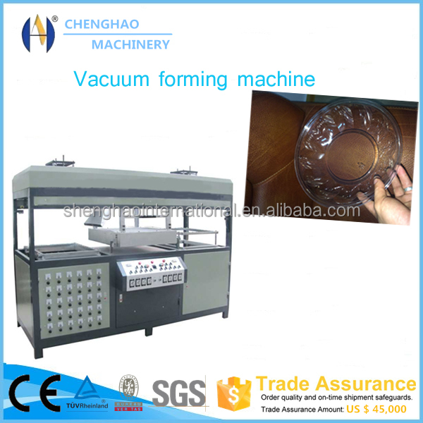 Supplying good quality double working station fast lunch box making machine