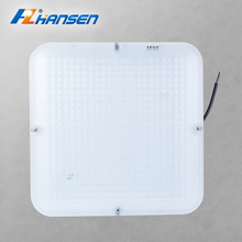 Square shape 20w IP65 SMD 2835 led ceiling panel light for outdoor use