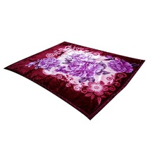 100% Polyester super soft Coral Fleece Blanket Super soft high quality Korean-style embossed Raschel knitting blanket