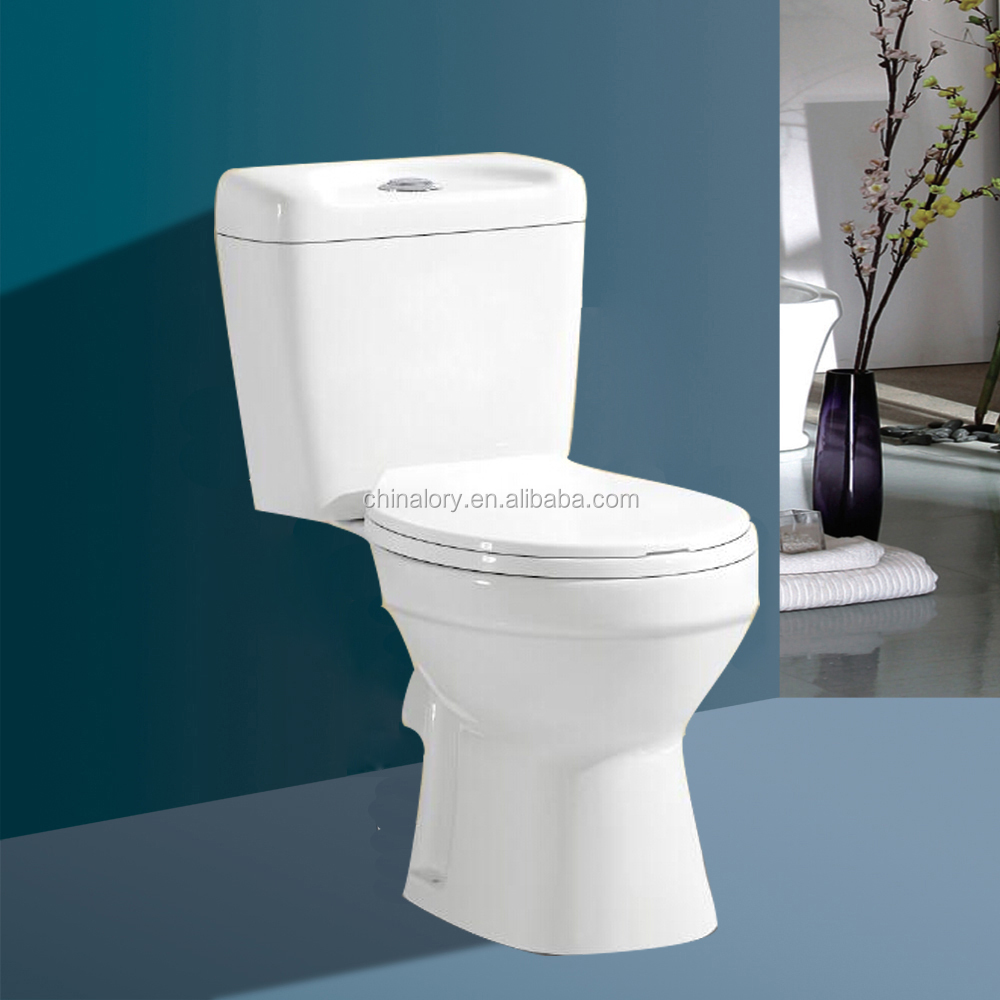 Bathroom two-piece washdown wc toilet seat,Ceramic Separate wc toilet bowl