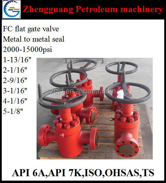 wellhead api 6a gate valve in valves