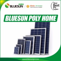 Bluesun factory ship cheap CIF price poly 50w color pv solar panel