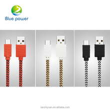 Hot selling Nylon Braided Usb Cable, Acceptable OEM Mobile Phone Usb Data Cable For All Smart Phone