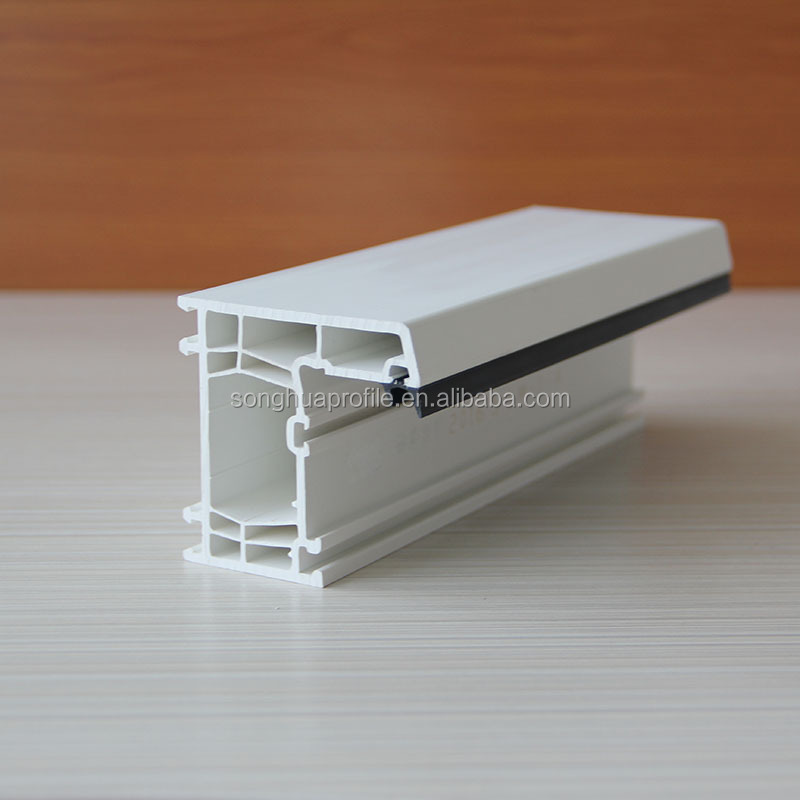 UPVC Plastic extrusion profile window frame