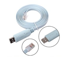 Ftdi USB to Serial / Rs232 Console Rollover Cable for Routers - Rj45