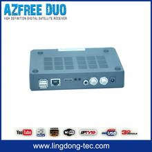 Azfree DUO tocomfree with free iks /sks dvb t2 set top box digital receiver