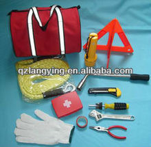 auto emergency tools with tow rope