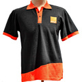 Color combination polo t shirt for man with logo