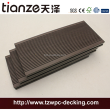 Anti-UV exterior WPC flooring for hotel pool sides
