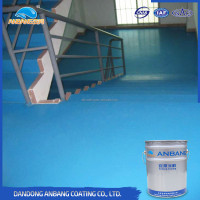 AB-DP-300M scratch resistance waterproof antislip epoxy resin concrete flooring paint