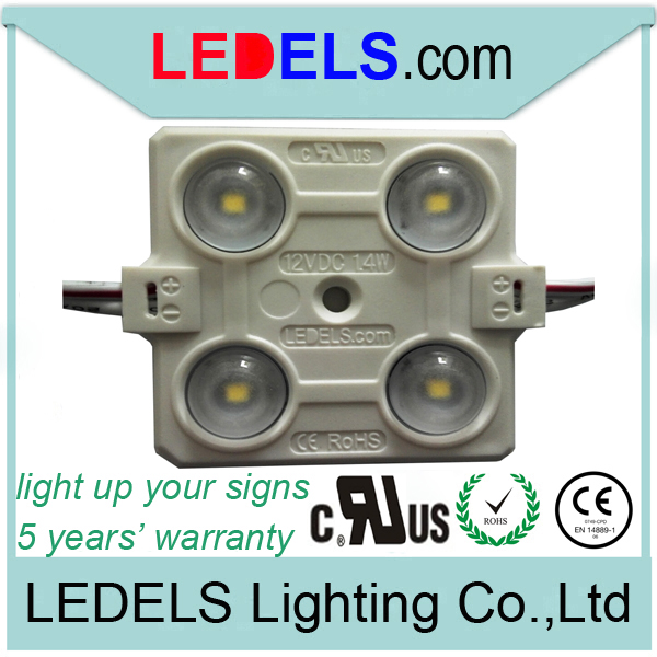 5 years warranty,12v 88lm everlight 4 leds 2835 3 led smd 5050 white 1.4 watt LL-F12T3636W4AELB outdoor led module
