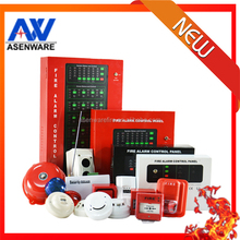 2 Wire Conventional 4 Zone / 8 Zone Est Fire Alarm System Control Panel For Building fire alarm project