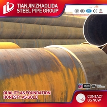 Zhaolida Brand spiral steel tube helical welded pipe}