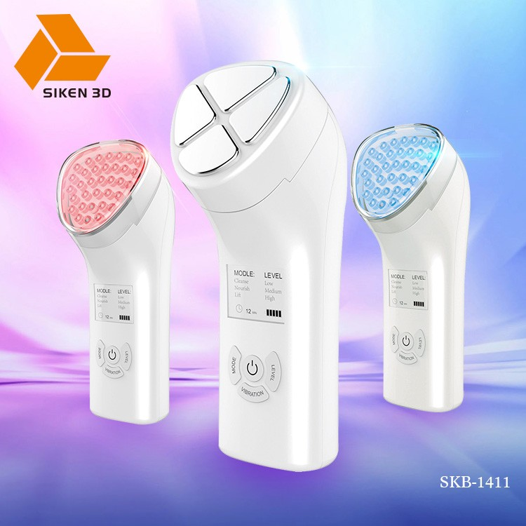 Beauty device red&blue led light therapy machine