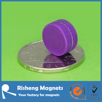 super strong plastic neodymium magnet china supplier