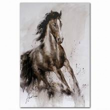 Animals Wall Arts Horse Oil Painting On Canvas