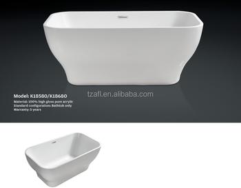 Acrylic bathtub k18580 buy acrylic bathtub bathtub for Best acrylic bathtub to buy