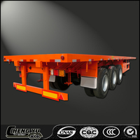 2016 China Hot Sale Flatbed Semi