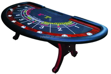 half round casino poker table,baccarat poker table