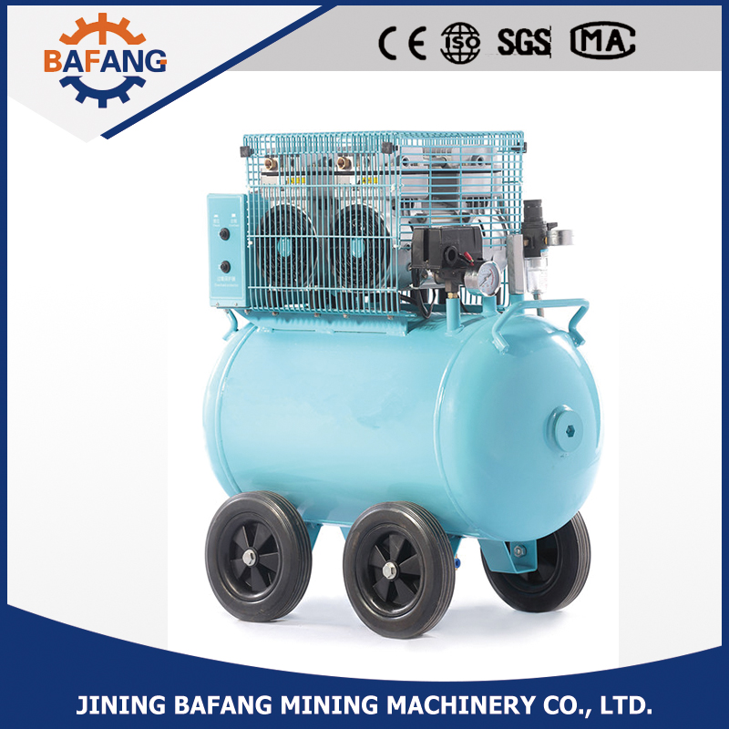 Low Noise High Flow Mute 5-8 Bar Oil Free Piston 220V Air Compressor