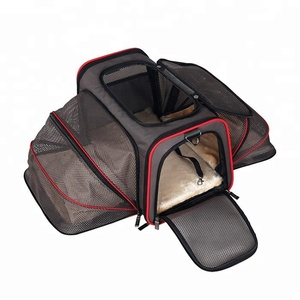 Pet travel carrier soft sided airline approved Pet Carrier Cat Carrier