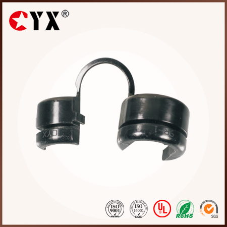 Black nylon66 Round type Strain relief bushing/Best Quality snap bushings