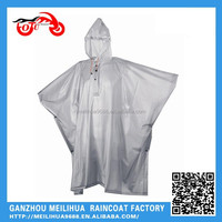 Promotional Breathable Waterproof Disposable Rain Poncho