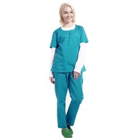 100% cotton medical hospital housekeeping uniform