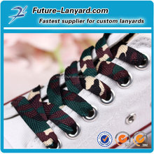 Custom design of shoelaces for promotion