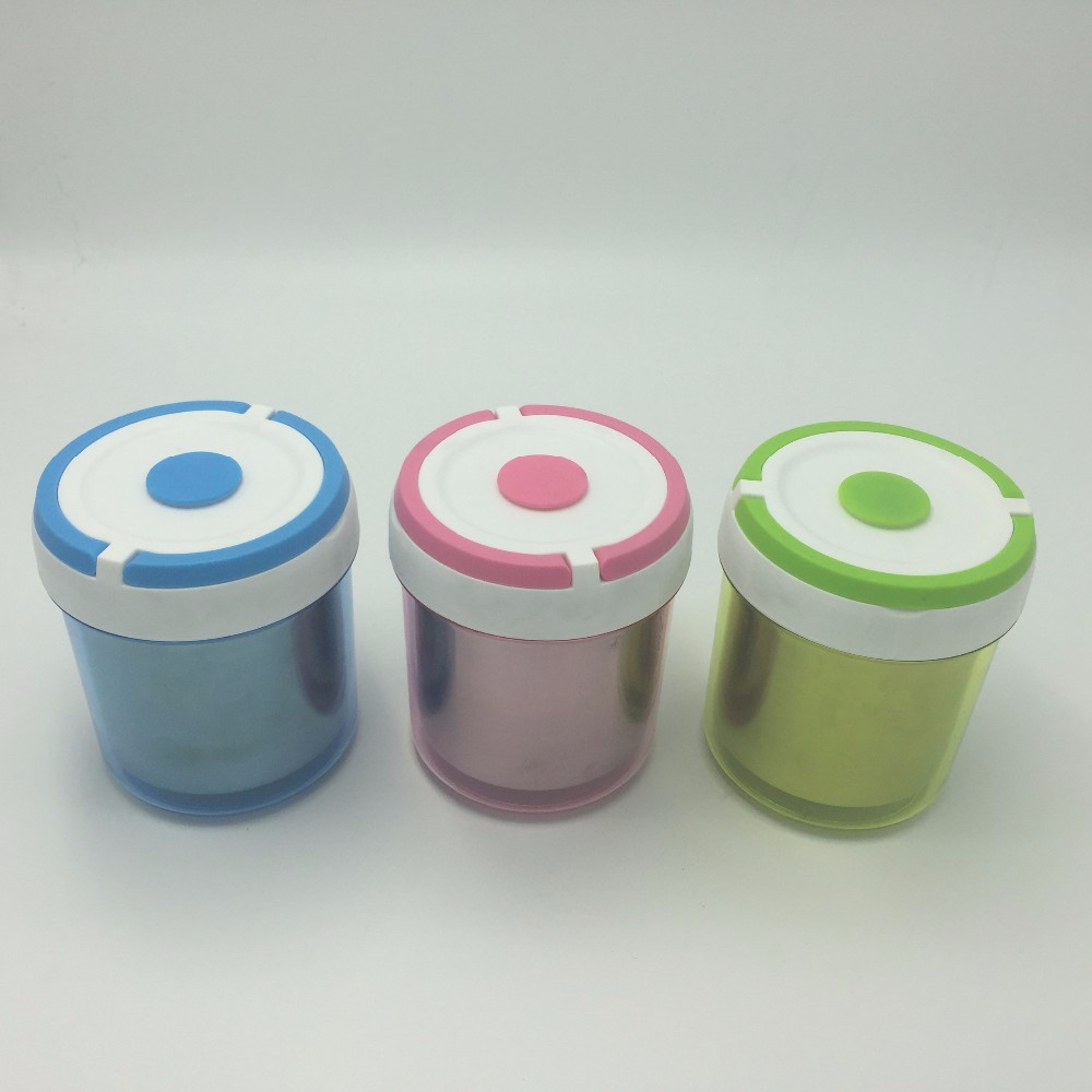 Mini stainless steel insulated plastic Stainless steel bento tiffin box mini food carrier