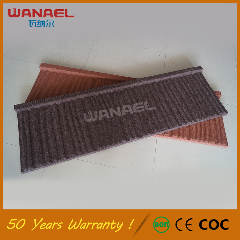 Drip Tiles Free Sample Wanael Shake Metal Stone Coated Roof Tile,Chinese Low Cost Galvanized Steel Pruple Portuguese Roof Tile
