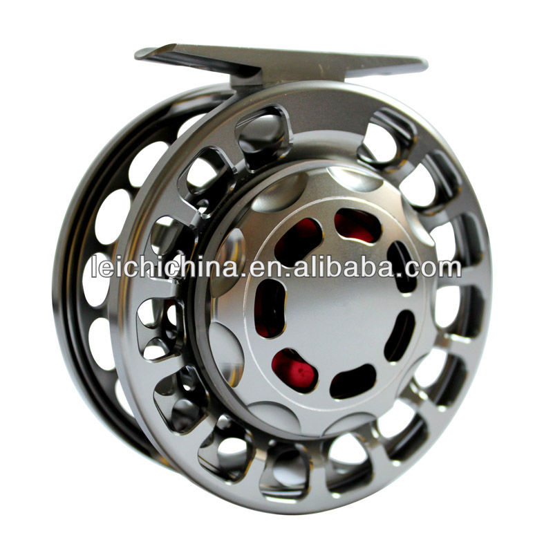 High quality large arbor fly reel for salmon fishing