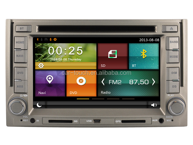 2016 New Multimedia Vehicle-Mounted Radio car DVD Player with GPS System
