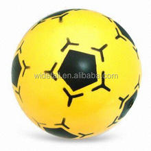inflatable glow beach ball / football promotional pvc balls