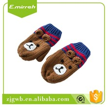Wholesale price funny gloves baby mittens cotton for 1611J