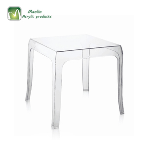 2018 acrylic hot sale modern clear acrylic coffee table