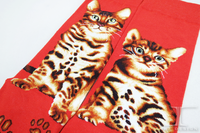 The Cat Series Bengal Cat high quality Maiden Crew Socks