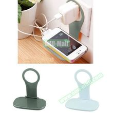 Nice Design Foldable Plastic Wall Cell Phone Mobile Phone Charging Holder