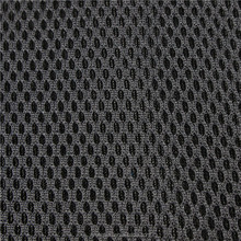Technical polyester stretch mesh fabric for sports shoes