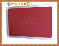 education message memo board ,aluminum frame felt pin board