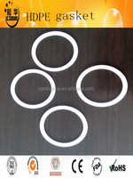 hot sell uhmwpe plastic round center ring hdpe gasket