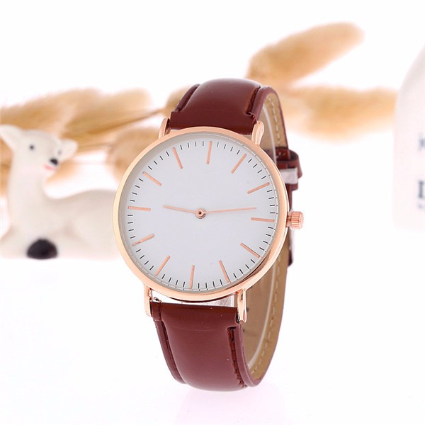 Best design leather band custom watch