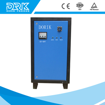 Low ripple high frequency DC switching power supply for watertreatment