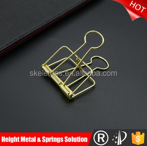 2017 Different shape OEM shape wire metal spring clip