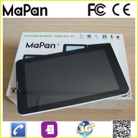 New Products 7 inch Cheap WIFI 3G Slim SIM Card Android Tablet for bulk wholesale